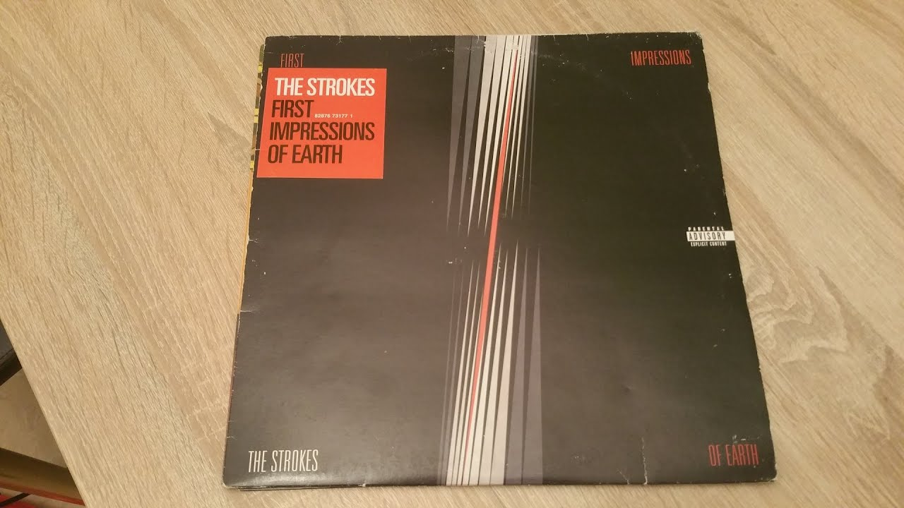 The Strokes First Impressions Of Earth Vinyl Lp Album