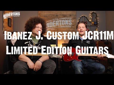Rabea & Pete - Ibanez J. Custom JCR11M Limited Edition Guitars