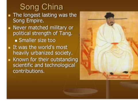 Sui, Tang and Song China AP World History