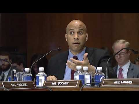 Booker Remarks on the Nomination of Thomas Farr to be US District Judge