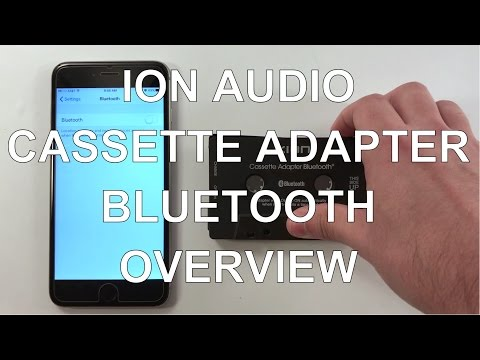 ION Audio Cassette Adapter Bluetooth - Bluetooth Pairing, Troubleshooting, And Charging