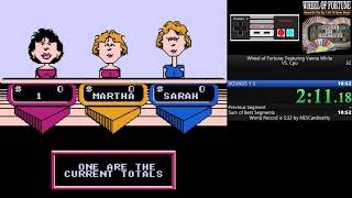 Wheel of Fortune: Featuring Vanna White (NES) VS cpu - 5.23
