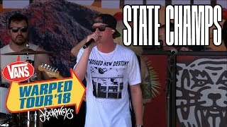 State Champs - Full Set (Live Vans Warped Tour 2018) Last Warped Tour...