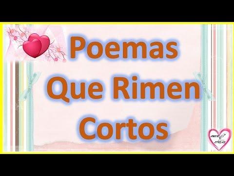 Poemas Que Rimen Cortos De Amor Para Conquistar Rimas Para Conquistar