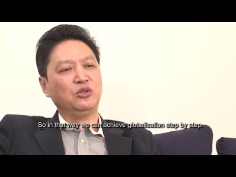 Chinese CEO explains his global strategy