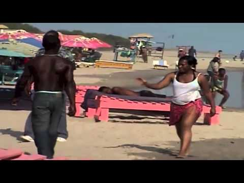 Ghana   liming on Labadi Beach