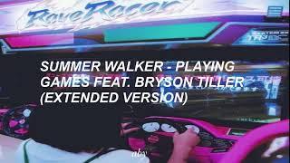 Summer Walker - Playing Games Feat. Bryson Tiller (sub español)