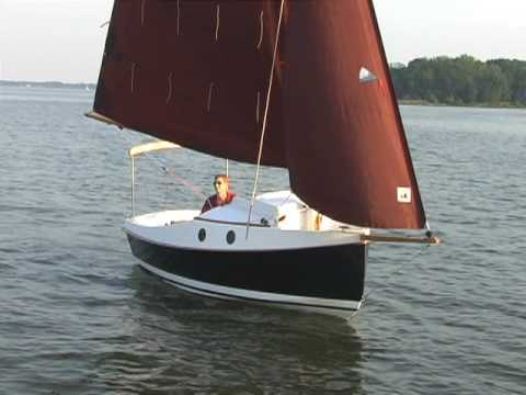 CLC PocketShip Under Sail - YouTube