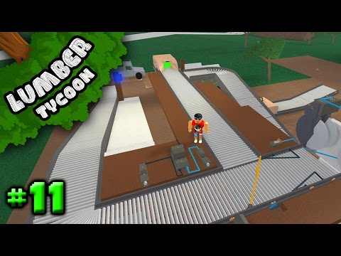 Lumber Tycoon Ep. 11: Upgraded Conveyor System | Roblox