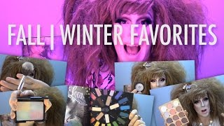 FALL | WINTER FAVORITES 2015 - LunatiCK, KVD, e.l.f., Debussy + MORE!