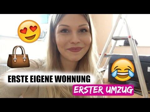 Meine ERSTE EIGENE WOHNUNG - Mein UMZUG - YouTube