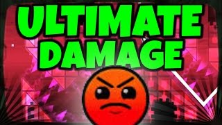 ¡WOOW!! Geometry Dash [1.9] | ULTIMATE DAMAGE - By ZenthicMega | MiKhaXx