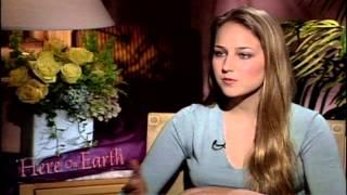 Here on Earth:  Leelee Sobieski Interview