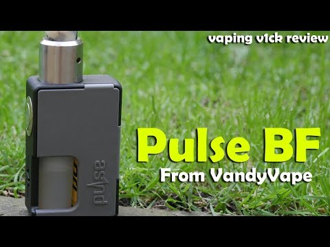 Vandyvape Pulse BF 20700 Mech Squonker - Review