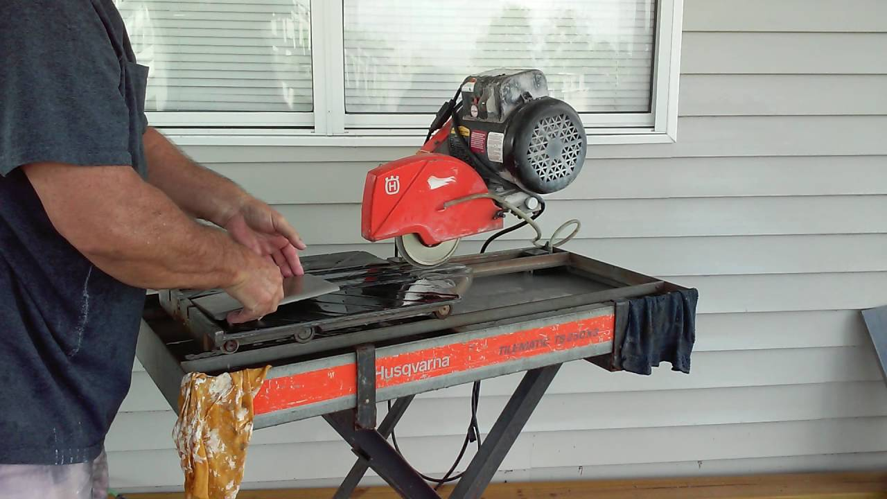 how to use tile bullnose blade on
