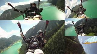 Ария - paragliding