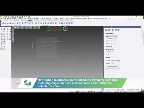CAD - Trim sheet body | VISI 2022.0