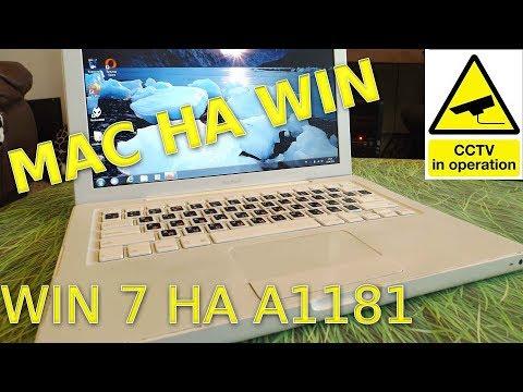 Ставим Windows 7 X86 на MacBook A1181 + Ставим все Маковские Драйвера Boot Camp + Чиним ЗВУК на Win7