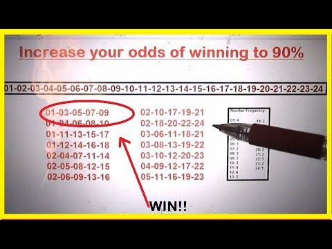 Powerball Lottery Strategy to increase your odds in winning to 90%