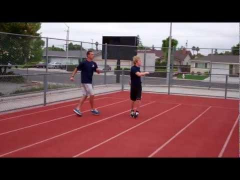 Running Drill: Grapevine