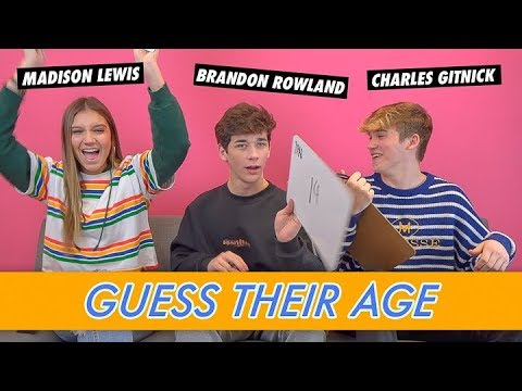Download Brandon Rowland, Madison Lewis & Charles Gitnick - Guess Their Age