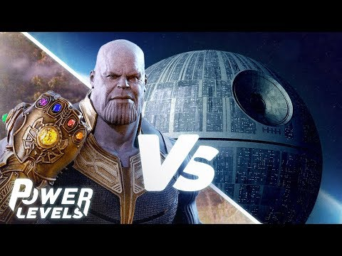 Thanos (Avengers) vs The Death Star (Star Wars)!   Power Levels