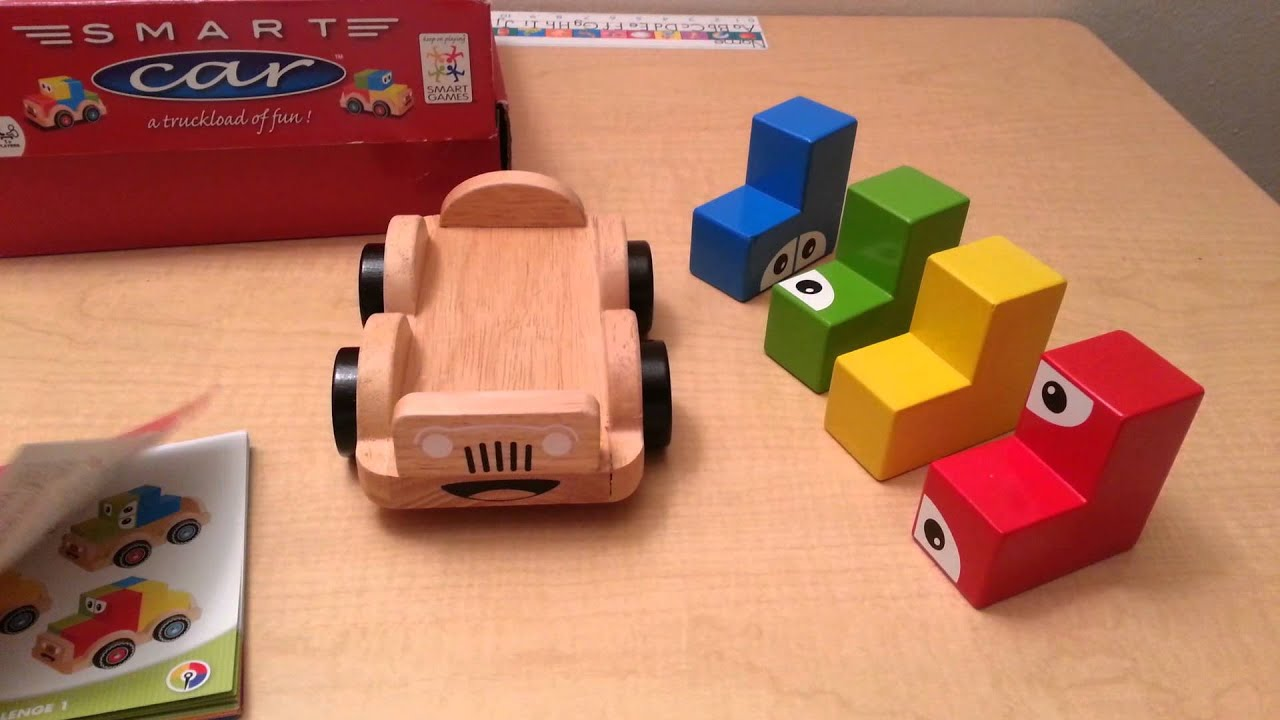 Smart Car by Smart Games Children Educational Logic Toy Game