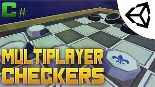 Multiplayer Checkers Tutorial #15 - Wrap - Unity 3D[Tutorial][C#]