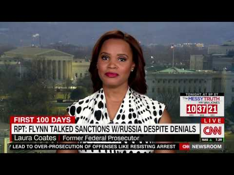 Laura Coates CNN Legal Analyst: On Flynn's Legal Exposure Under the Logan Act