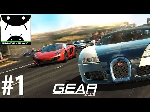 Gear.Club Android GamePlay #1 [1080p/60FPS] (By Eden Games)