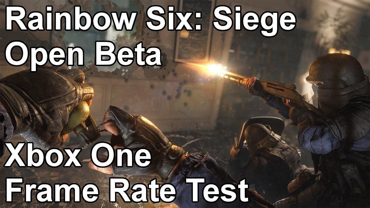 Rainbow Six Siege Open Beta
