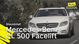 Mercedes CL 500 Facelift: Luxusprobleme
