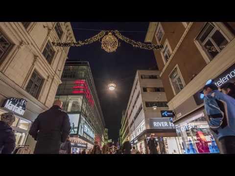Stockholm in Timelapse December 2017