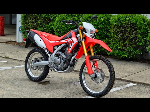 2017 Honda CRF250L Review of Specs | Dual-Sport Motorcycle / Bike | CRF 250 L