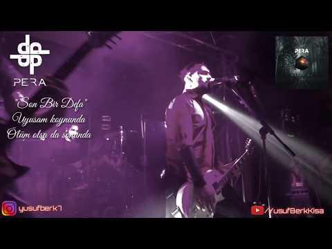 """PERA - Son Bir Defa •sözleri Ile Birlikte   """"Mutlu Ol"""" Albüm Lansmanı   Live @6:45 KK Ankara"""