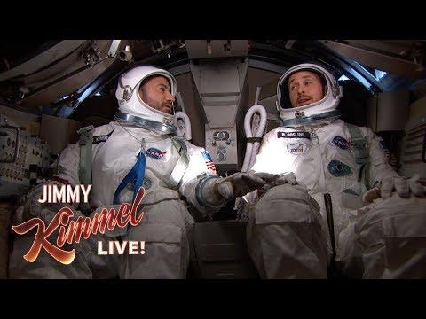 Ryan Gosling & Jimmy Kimmel Go to Space