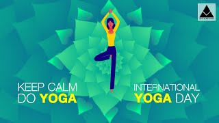 International Yoga Day 2019 | International Yoga Day whatsapp status video | World Yoga Day  Card