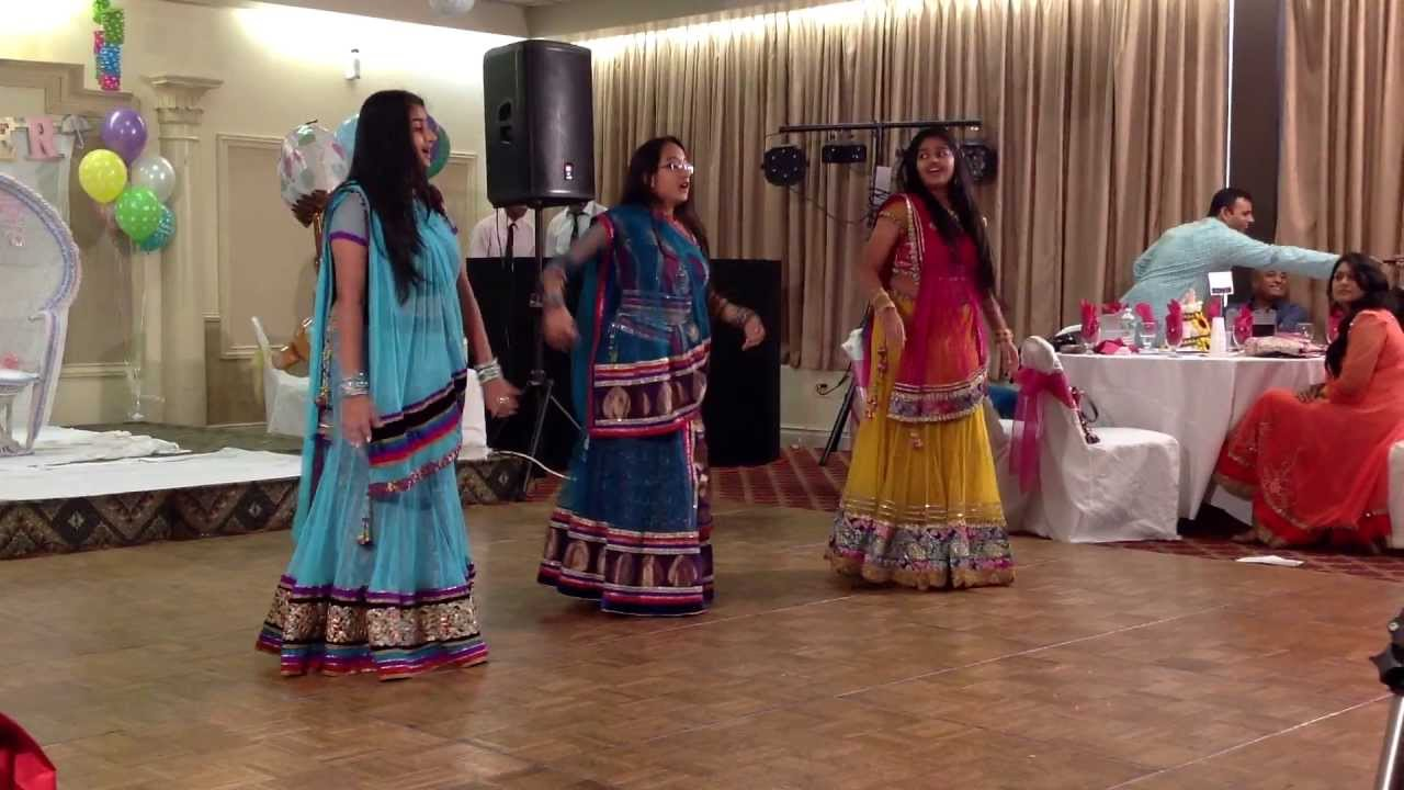 Indian Baby Shower Dance Aksharas And Malti Godh And