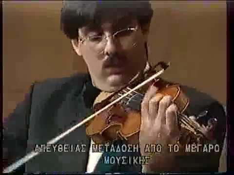 Leonidas Kavakos plays Paganini -Nel cor piu non mi sento- 1.mpg