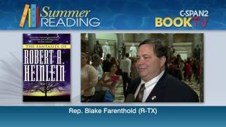 What is Rep. Blake Farenthold (R-TX) reading this summer?