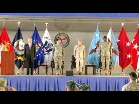 Gen. James 'Mad Dog' Mattis (Ret.) CENTCOM Change of Command Ceremony