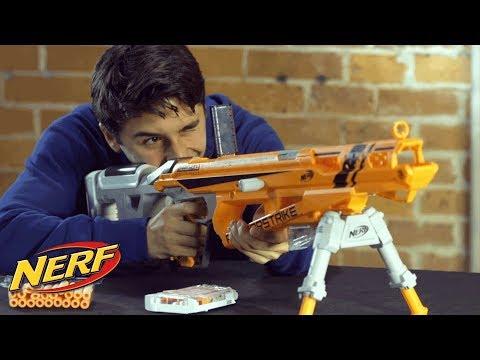 NERF N-Strike Elite Raptorstrike Blaster - Official How to Demo