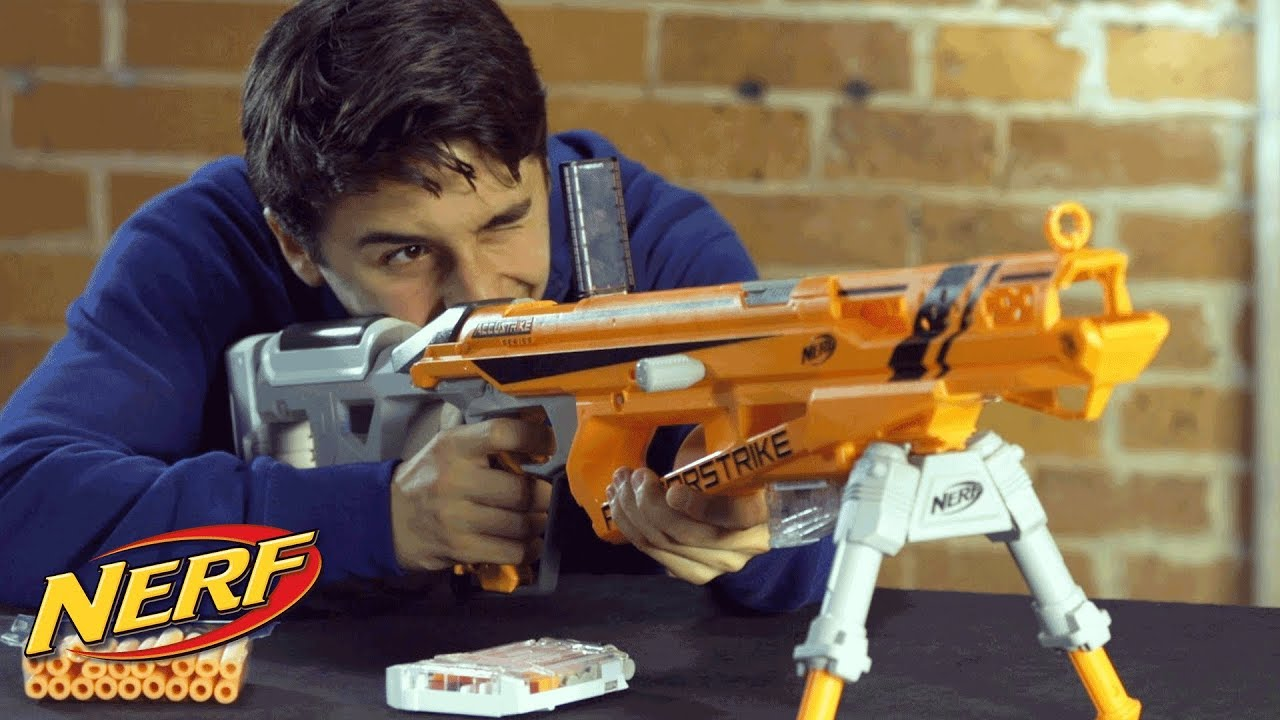 NERF N-Strike Elite Raptorstrike Blaster - Official How to Demo