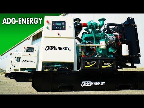 Презентация ADG-Energy. Промо-ролик.