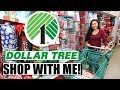 Dollar Tree Shop With Me    Christmas Shopping