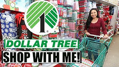 Dollar Tree Shop With Me! | Christmas Shopping