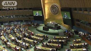 日本の核廃絶決議案が国連総会で採択 26年連続(19/12/13)