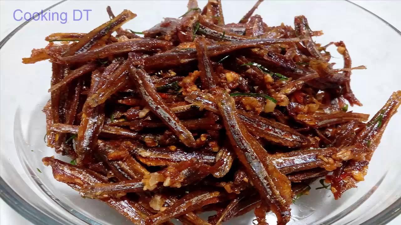 Hướng dẫn làm món cá cơm khô rang chua ngọt ngon mê ly/By Cooking DT