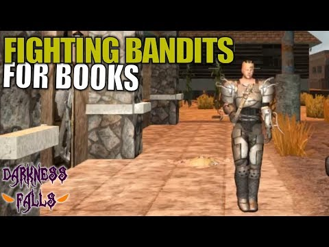 FIGHTING BANDITS FOR BOOKS | Darkness Falls MOD 7 Days to Die | Multiplayer Gameplay | S02E13