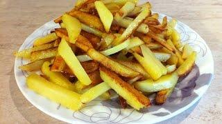 Жареная картошка. Как правильно пожарить картошку. Мамулины рецепты.